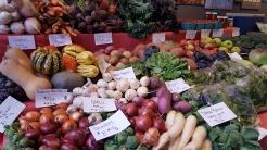 Still Life Farm market display